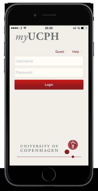 myUCPH - the university's official app